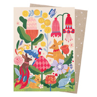 Greeting Card - In The Garden