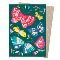 Greeting Card - Tropical Butterflies