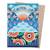 Greeting Card - Look For Rainbows