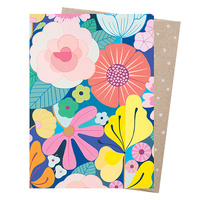 Greeting Card - Summer Garden