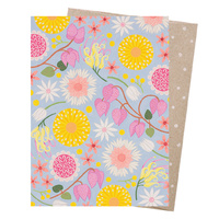 Greeting Card - Wildflower Moorland