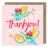 Mini Card - Thankyou Blush