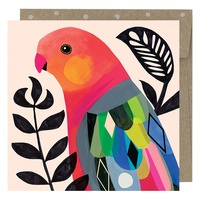 MIni Card - King Parrot