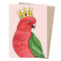 Greeting Card - Crowned Parrot