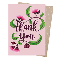 Greeting Card - Thank You Blossom