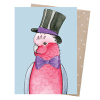 Greeting Card - Wise Galah
