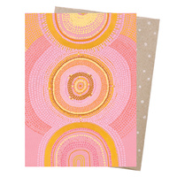 Greeting Card - The Great Cosmic Sun