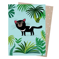Greeting Card - Cheeky Devil