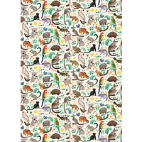 Flat Wrapping Paper - Birds & Blooms