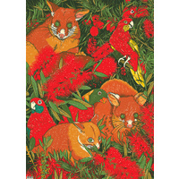 Flat Wrapping Paper - Possum's Menagerie