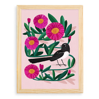 Artist Print - Willie Wagtail