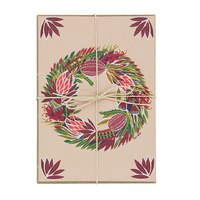 Christmas Cards - Native Wreath - Set of 10