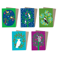 Pack 150 Natives - Corporate Christmas Cards